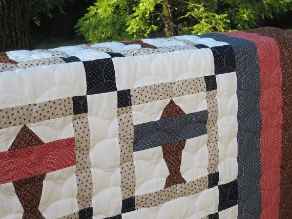 Airplane Quilt 1929 Pattern Boys Quilt by SewnWithLoveByVicki, $193.50