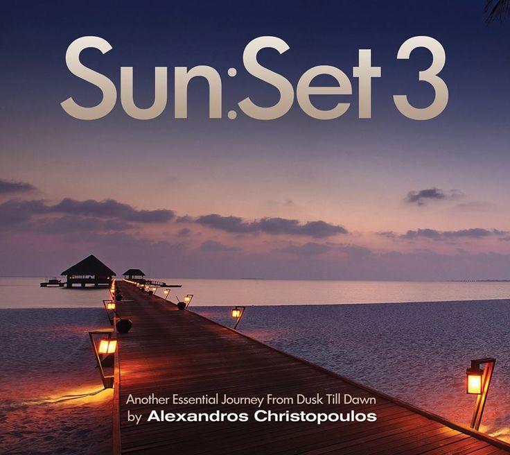 ★ Sun:Set 3 ★   το μοναδικό soundtrack αφιερωμένο στις δύο πιο όμορφες στιγμές ανάμεσα στη μέρα και την νύχτα, με 26 chill, balearic, bossa, mellow και deep house επιλογές από τον Αλέξανδρο Χριστόπουλο.