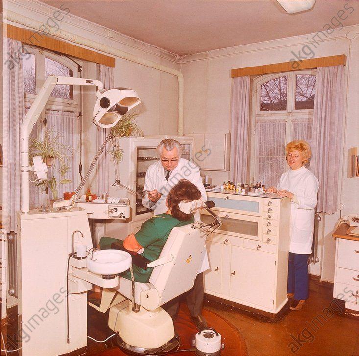 Betriebszahnarztpraxis / DDR / Foto 1976