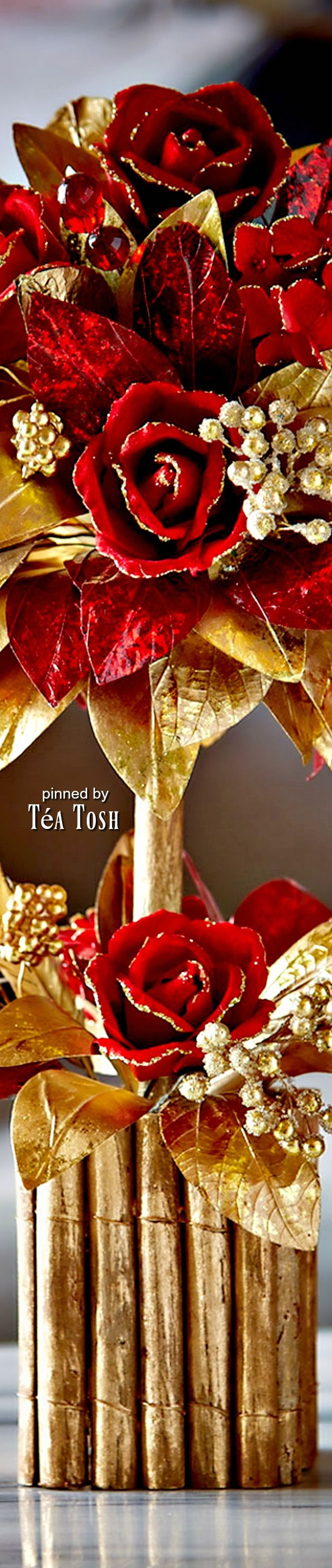 ❇Téa Tosh❇ Tabletop Topiary