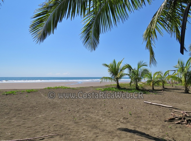 Palma Beach (Bandera Beach) @ Parrita, Puntarenas, Costa Rica | Costa Rica Photos