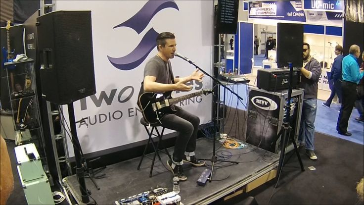 Pete Thorn -Two Notes Booth @ NaMM 2017