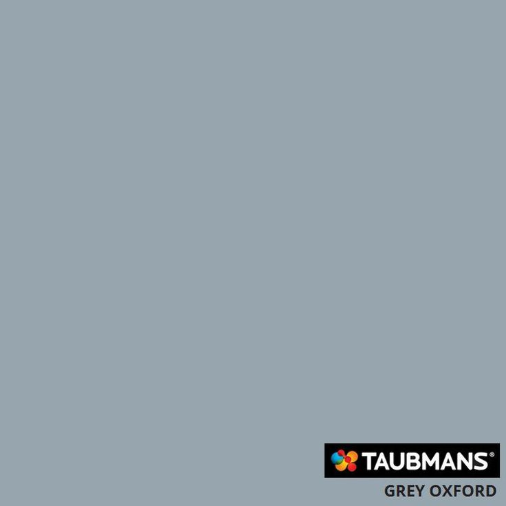 Possible Wall Colour - Taubmans Grey Oxford
