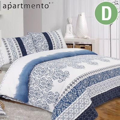 Apartmento - Indigo Quilt Cover Set
