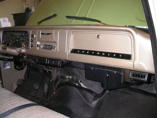 66 chevy truck interior | Chevy Pickup Truck Suburban Air Conditioning System | 64, 65, or 66 ...