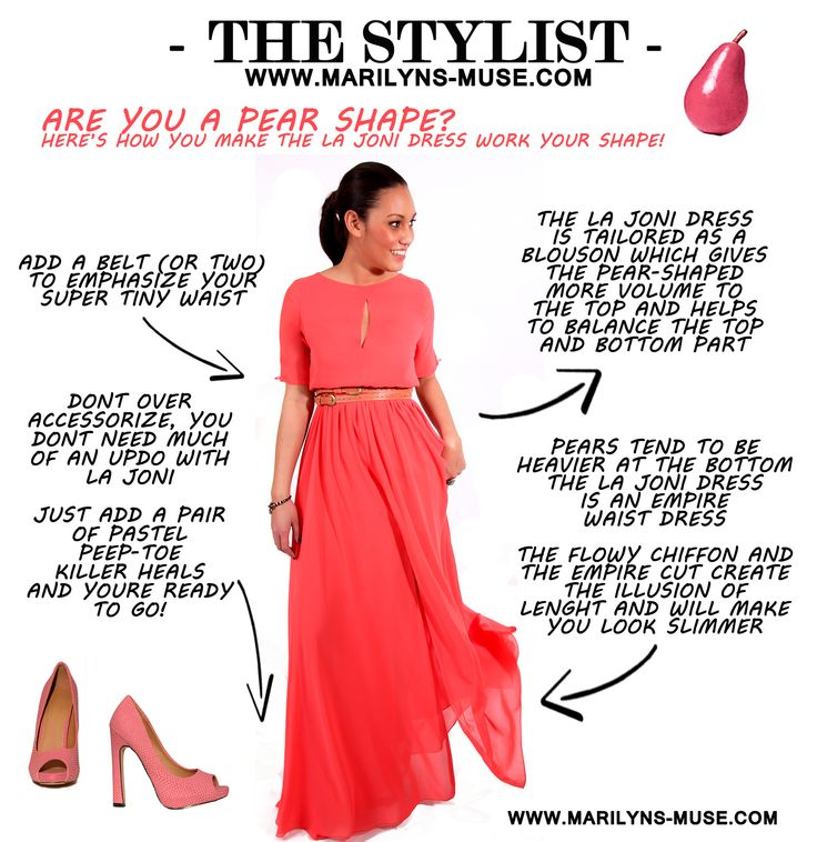 #fashion #pear #shape #statementpiece #empiredress #dress #tips&trics #stylist