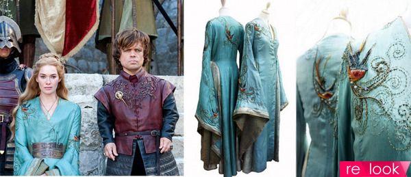 платья из сериала