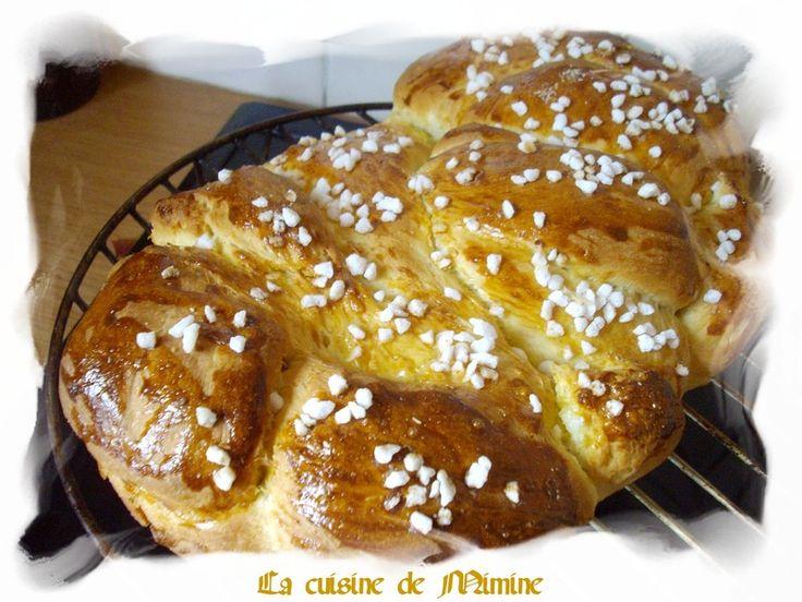 The Brioche = brioche de Rinxent - La cuisine de Mimine
