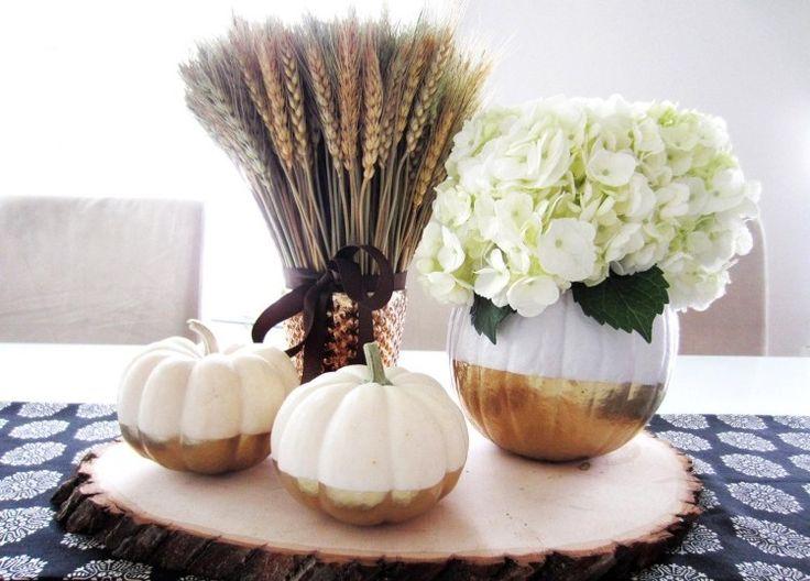 Herbst Dekoration mit Kürbissen - 20 reizvolle & warme Ideen