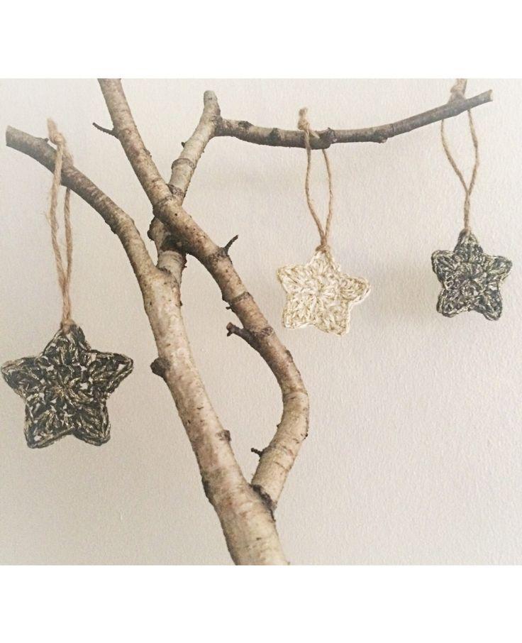 A personal favourite from my Etsy shop https://www.etsy.com/dk-en/listing/495278381/christmas-star-handmade-crochet-ornament