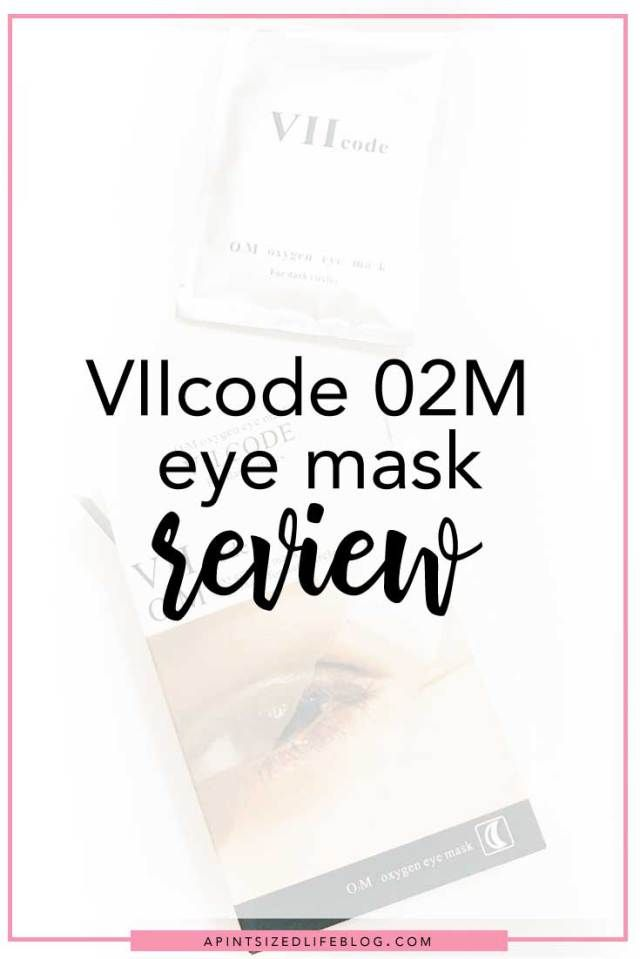 VIIcode eye mask review - A Pint-Sized Life