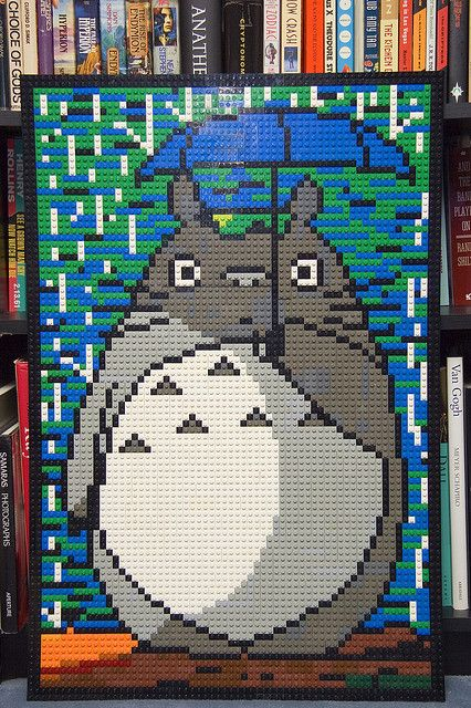 how to make your own lego mosaic