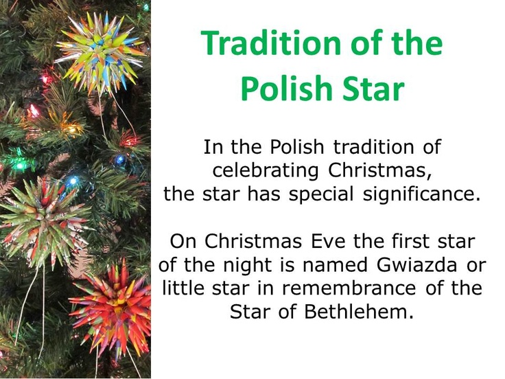 polish christmas star - Polish Christmas Traditions