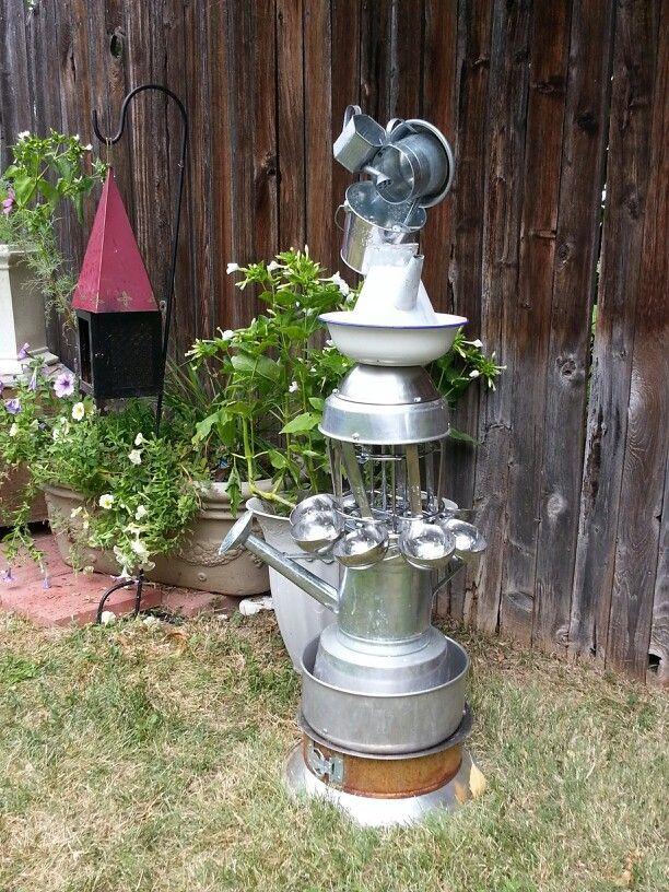 66 Best How To Make Copper Art Sprinklers Images On