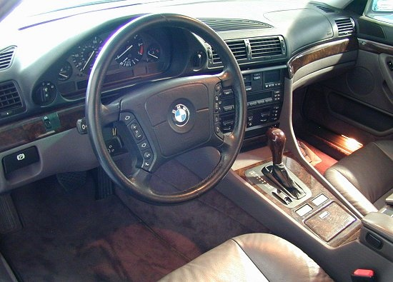 1998 Bmw 740il Interior