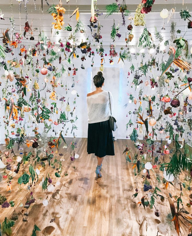 You Have to See This Flower Installation Before It's Gone — A Fabulous Fete
