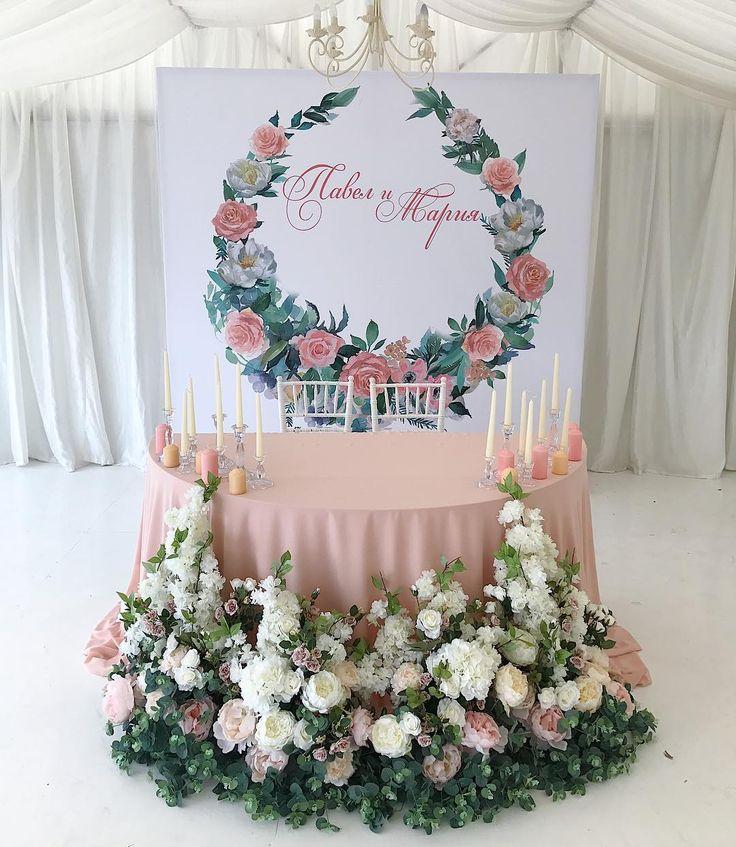 26 отметок «Нравится», 1 комментариев — КРАСИВЫЕ СВАДЬБЫ В КРЫМУ (@dolche_vita_decor) в Instagram: «Нежные цветочные краски для Паши Маши , по заказу от @anna.love.koroleva @buselanna #свадьбакрым…»