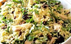 Labor Day Orzo and Chicken Pasta Salad Recipe
