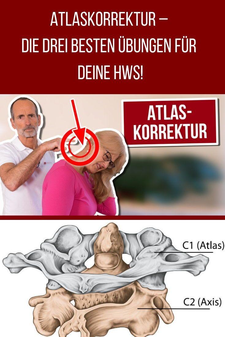 Atlaskorrektur – Diese 3 Übungen sind Gold für die HWS! Liebscher & Bracht | Die Schmerzspezialisten