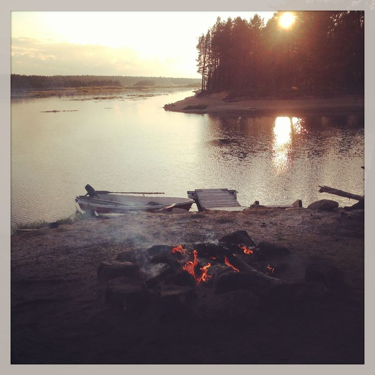 Finnish landscape in Lapland