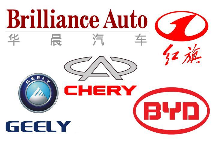 Chinese car logos