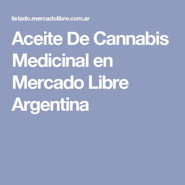Aceite De Cannabis Medicinal en Mercado Libre Argentina