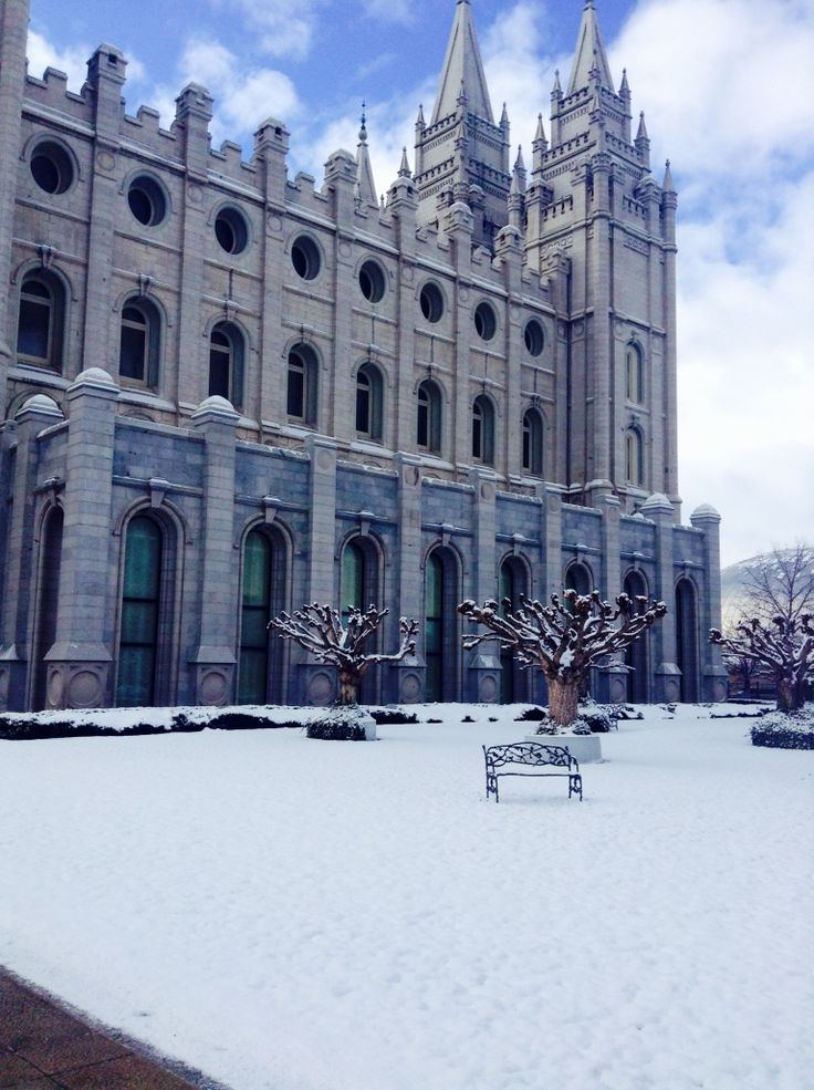 Salt Lake City temple. A true beauty