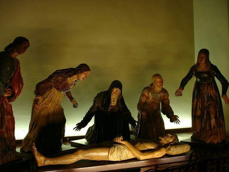Guido Mazzoni. Compianto. Chiesa del Gesù a Ferrara.
