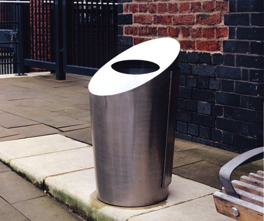 Stainless Steel Science Bins - Steel Line, UK