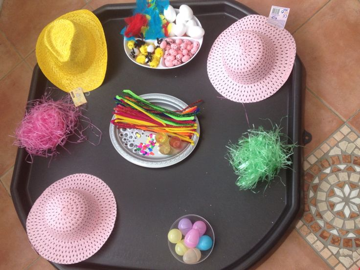 Our Easter Crafts Tough Tray Tuff Spot Grass Easter
