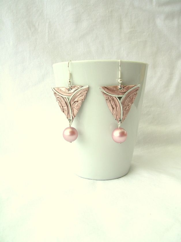 Ohrhänger - Bermuda-Ohrhänger mit Perlen - ein Designerstück von fanori bei DaWanda