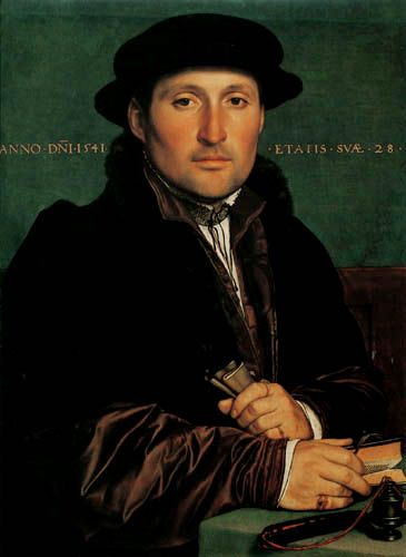 HOLBEIN Hans the Younger (Augsburg c.1497-1543) - Portrait of a Merchant