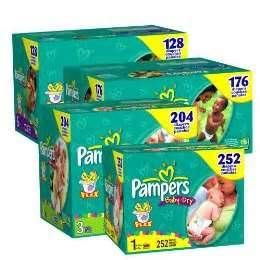 Print Out NEW Pampers Diapers Coupons!