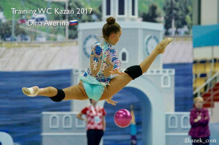 Dina AVERINA (Russia) ~ Ball training for World Challenge Cup Kazan 2017 ☘☘ Photo by Shanek_com