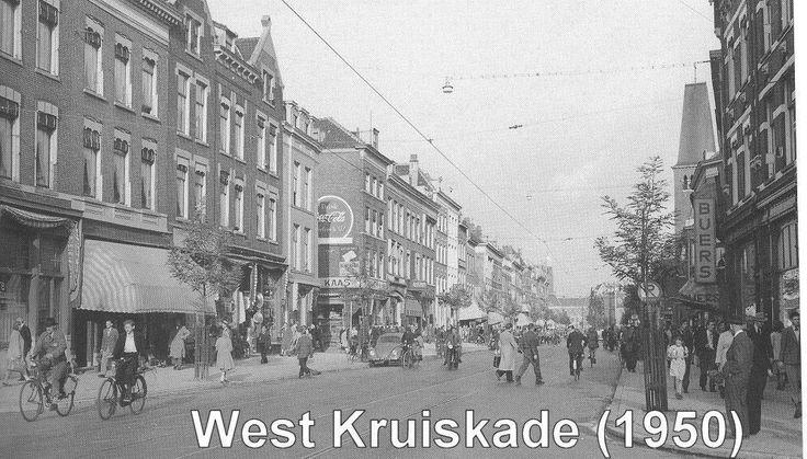 West Kruiskade Rotterdam (jaartal: 1945 tot 1950) - Foto's SERC