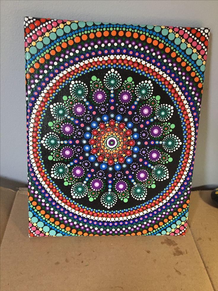 how to make a mandala painting