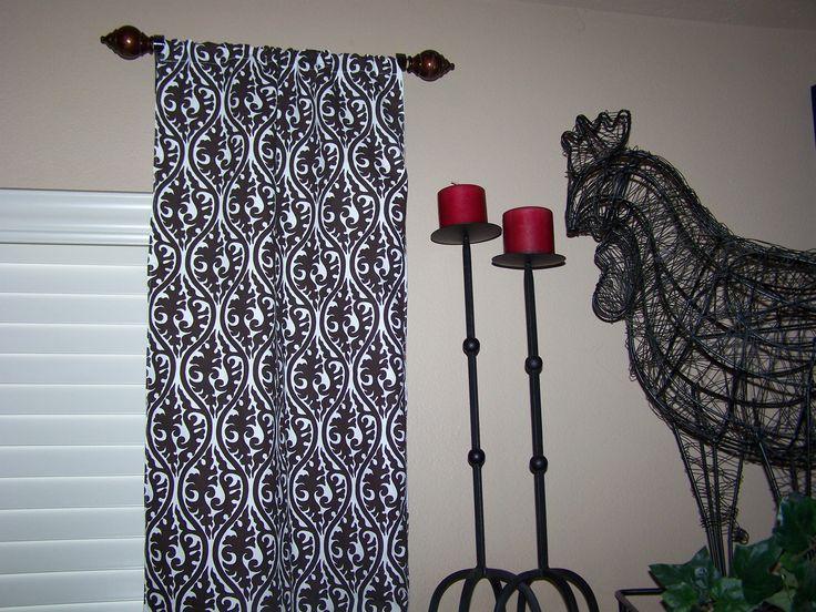 17 melhores ideias sobre hastes de cortina curtas no pinterest ...