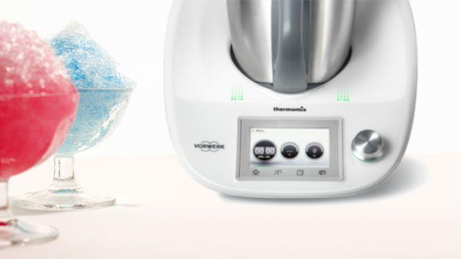 Dauert nur Sekunden: Slush Eis im Thermomix machen