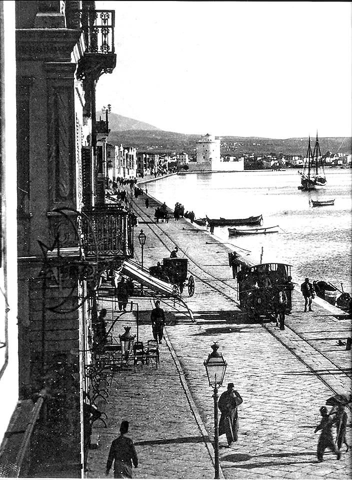 1905 - Thessaloniki, at the port
