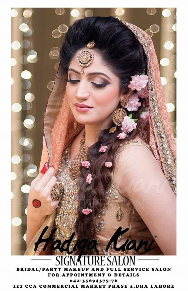 Pakistani Bridal Makeup Ideas 2016 by Hadiqa Kiani Offers