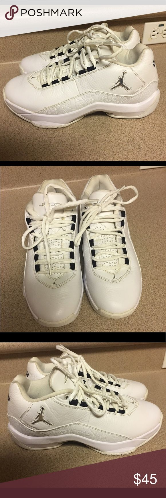 EUC JORDAN FLIGHT 23 SNEAKERS 317707-161 Size 9 This listing is for a pair of Jordan 23 White Sneakers #317707-161, Size 9 in Good Condition. Please see all my pictures. Nike Shoes Athletic Shoes