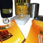 Beer Bird Gift Set - Beer Bird Gift Set    The Beer Bird Gift Can contains:    	Chicken Thermometer  	Waterproof Playing Cards  	Neoprene beer bottle / can cooler  	Single action bottle top remover  	Recipe Booklet  	Card Games Bookle - BraaiShop.Com