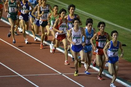 【第44回全日本大学駅伝予選会】  第4組先頭集団