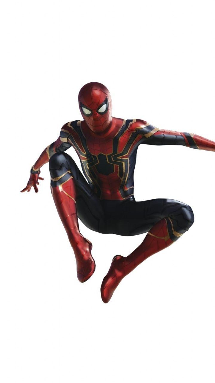 720x1280 Wallpaper Spiderman Minimal Avengers Infinity War Artwork Spiderman Tom Holland Spiderman Man Wallpaper