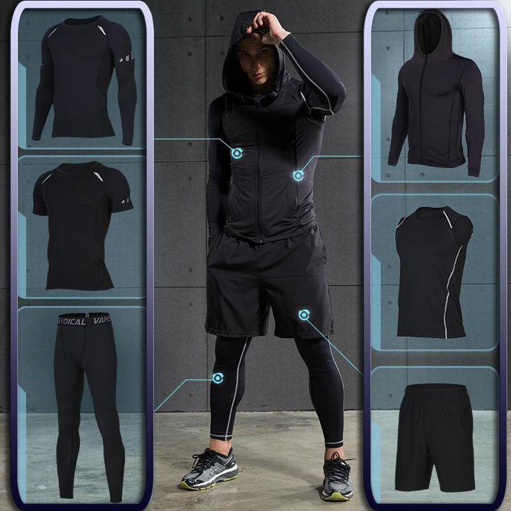 Compre Gym Dos Homens Fitness Formação Sportswear Atlético