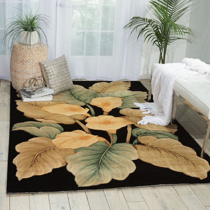 Nourison Hand-Tufted Tropical Rug