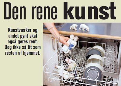 8 ting, opvaskemaskinen OGSÅ kan bruges til