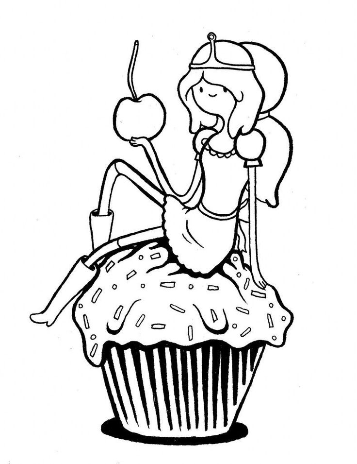 adventure time characters coloring pages-#29