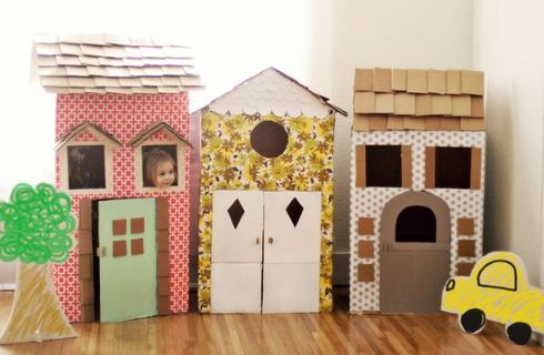 Lavoretti bambini con il cartone: idee creative per i grandi e piccini