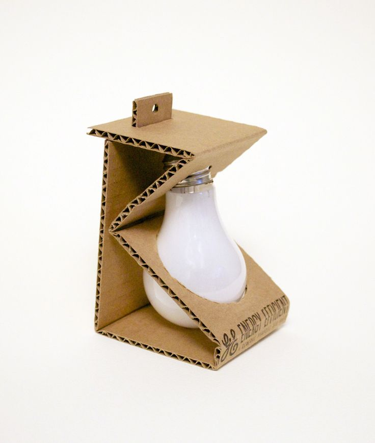 Packaging of the World: Creative Package Design Archive and Gallery: Environmentally Friendly Light Bulb Packaging (Student Project)
